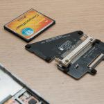 Install CF card