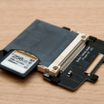 Install SD card