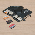 Install MicroSD card(s)
